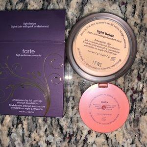 tarte Makeup - Airbrush Foundation Powder + Blush Deluxe